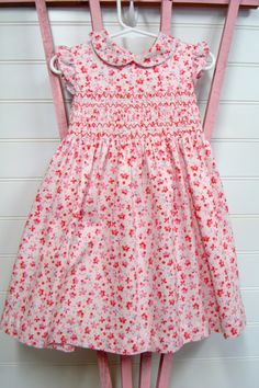 Vintage toddler clothes baby girl dress by OnceUponADaizy on Etsy, $15.00