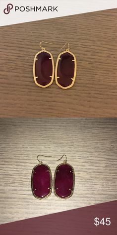 Kendra Scott Danielle Earrings (price firm) Price lowered! This is as low as I will go! Never worn! Beautiful details😍 Kendra Scott Jewelry Earrings