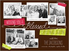 Blessed Script 6x8 Stationery Card by Stacy Claire Boyd   Shutterfly