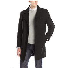 Kenneth Cole New York Men's Single Breasted Wool Walker http://amzn.to/2kKC9bJ   #KennethCole #Walker #coat #fashion #style #discount #Sales #DealsOfTheDay #Deals #beauty #gifts #giftidea #forher #Sales #Deals