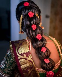 Modern Hairstyles, Curly Hairstyles, Bridal Hair, Blouses, Touch, Traditional, Hair Styles, Beauty, Collection
