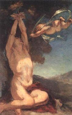 """Honoré Daumier """"Martyre de Saint Sébastien (esquisse)"""""""