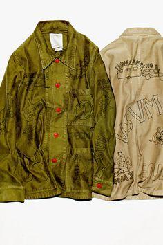 Visvim Travail Coverall Sketches Jacket
