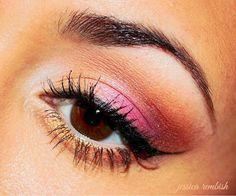 Afterglow - Makeup Geek - Brown Eyes - Eye Makeup - Colorful - ohsojess - Jessica Rembish