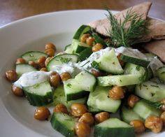 10 cucumber recipes - I LOVE cucumbers!!!