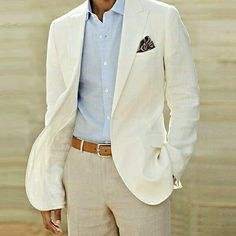Tuxedos Summer Beach Linen Suits Ivory Men Wedding Suits Casual Notched Lapel Grooms Tuxedos Two Piece Men Suits One Button Slim Fit Groomsmen Suit White On Black Tuxedo From Arrowder, $91.1  Dhgate.Com