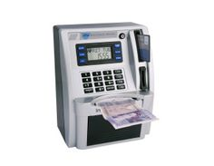 ATM Bank Cash Machine Saving Money Box Gift Birthday Present Kids Adults Gadget Kids Money Box, Kids Learning Toys, Learning Money, Fun Learning, Atm Bank, Money Saving Box, Savings Box, Cash Machine, Money Bank