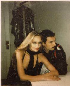 Jerry Hall & Antonio Lopez. He was my all-time illustration inspiration I fell in love with his work in the 70s. Jerry Hall my all-time favorite model, simply The Best.