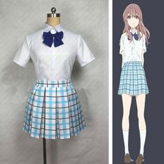 >> Click to Buy << Anime A Silent Voice Shouko The shape of voice Nishimiya Shoko Cosplay Costume Tailor Made  #Affiliate