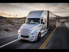 Quality commercial semi trucks for sale, turn to Freightliner Trucks. Our engineers work to bring you the most fuel-efficient, reliable semi trucks for sale. Nevada, Semi Trucks, Big Trucks, Robot Truck, Build A Robot, Las Vegas, Daimler Ag, Freightliner Trucks, Automotive Photography