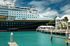 Disney Magic in Key West during a recent cruise...