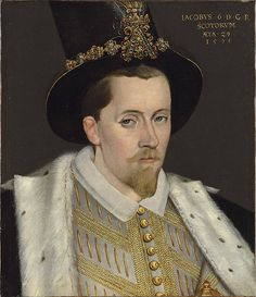 James I of Britain, son of Mary, Queen of Scots, grandson of Margaret Tudor, succeeded Elizabeth I since she had no children.