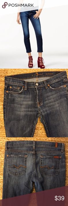 7 For All Mankind Roxann Jeans Size 29 Jeans are in great condition. Great stretch. 7 For All Mankind Jeans