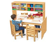 We think that the Classic Birch Lakeshore Writing Center would be perfect for at-home learning!