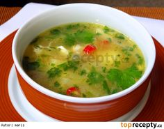 Pikantní česneková polévka