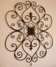 Listed Here Are The Beautiful Wrought Iron Wall Decor And Items For Wrought Iron  Wall Art. Bring Home The Life With Wrought Iron Wall Decoration Like Scones  ...