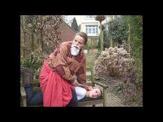 Tableau vivant Carravagio's Issac and Abraham - YouTube