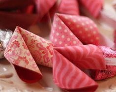 A Cute Craft for Chinese New Year: Paper Fortune Cookies « Canadian Family