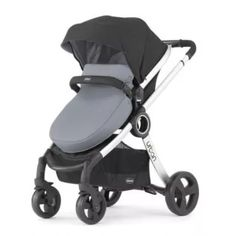 The Chicco Urban 6-in-1 Modular Stroller offers six unique modes of use to meet your growing child's needs. This baby stroller is stylish and sleek.