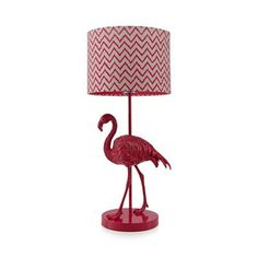 Butterfly Home by Matthew Williamson Designer pink flamingo lamp- at Debenhams.com