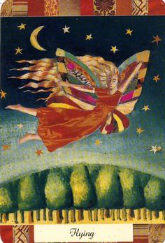 I am flying Dream Card