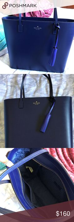 Kate spade tote purse Brand new Kate Spade tote purse! Never used got it for a Christmas present and wasn't my style. kate spade Bags Totes