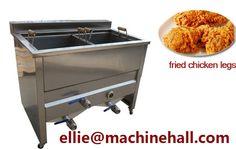 Chicken Nuggets Frying Machine|Chicken Meat Fryer Equipment http://www.fried-machinery.com/products/meat-fryer/chicken-nuggets-fryer.html