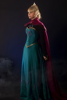 Elsa, queen of Arrendelle (Disney's Frozen) Cosplay by Dóra Szűts of Garden of Imagination Photo by Csaba Varga. 1st place at the Craftmanship cosplay contest at Animekarácsony - 2013., Budapest, Hungary.