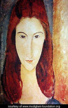 Jeanne Hebuterne 2 - Amedeo Modigliani - www.modigliani-foundation.org