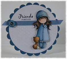 gorjuss cards made with gorjuss stamps - Google Search