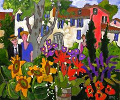 Claude A. Simard & Klinkhoff Offer Movember Painting to Raise Money New York Museums, Canadian Painters, Canadian Art, Colorful Paintings, Contemporary Paintings, Flower Paintings, Museum Of Fine Arts, Art Museum, Art