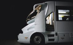 eleMMent Marchi Mobile - futuristic super truck - most expensive RV in the world , unique design , ultimate aerodynamic design Colani Truck, Luxury Rv Living, On The Road Again, Luxury Camping, Trucks, Commercial Vehicle, Luxury Yachts, Mobile Home, House On Wheels
