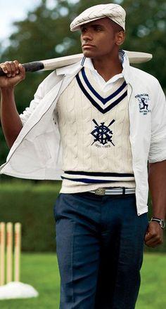 Ralph Lauren cricket vest