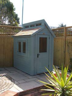 Backyard Greenhouse, Backyard Privacy, Backyard Patio, Timber Garden Sheds, Contemporary Sheds, Posh Sheds, Buy Shed, Painted Shed, Steel Framing