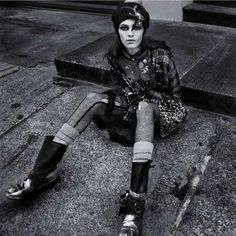 Glamorously Chaotic Editorials - This Numero Editorial Focuses on Feminine Grunge Fashion