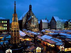 Bavaria Christmas Market Neuremberg