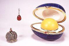 The online community for antiques, vintage & art object enthusiasts +Free Online appraisals :: Article :: The Fabergé Czar Imperial Easter Eggs - part 1