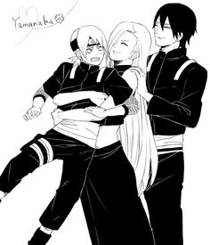 Find images and videos about sai, ino yamanaka and inojin on We Heart It - the app to get lost in what you love. Sai Naruto, Anime Naruto, Naruto Shippuden, Itachi, Tenten Y Neji, Ino And Sai, Naruto Fan Art, Naruto Cute, Sarada Uchiha