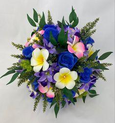 Pink Blue, Yellow, Green Flowers, My Ebay, Floral Wreath, Bouquet, Wreaths, Bridal, Home Decor