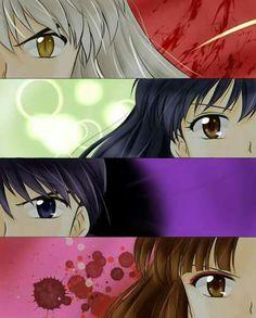 Inuyasha characters eyes.