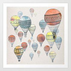 Voyages Art Print by David Fleck - $18.00
