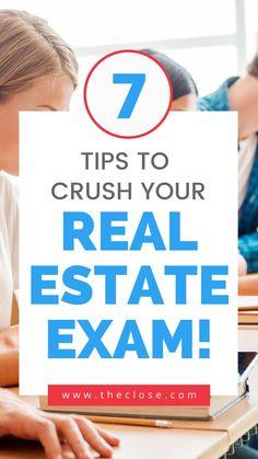 Real Estate Test, Real Estate School, Real Estate Career, Real Estate License, Real Estate Leads, Real Estate Business, Real Estate Investing, Real Estate Marketing, Real Estate Training