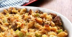 A super easy Southern dressing (or stuffing) recipe made extra special with sausage and cornbread.