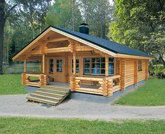 """Képtalálat a következőre: """"wood house"""" Small Log Homes, Small Log Cabin, Tiny House Cabin, Log Cabin Homes, Log Cabins, Modern Wooden House, Wooden House Design, Prefab Cabins, Prefabricated Houses"""