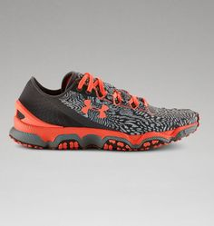 Women's UA SpeedForm® XC Trail Running Shoes crafted in a clothing factory to create the precision, feel, fit and comfort you know from Under Armour performance apparel.  It's the shoe we were born to make.