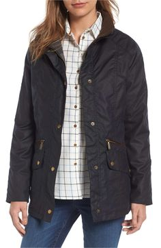 Barbour rarely goes on sale, so when it does, it's time to stock up! Barbour Jacket, Vest Jacket, Rain Jacket, Blazers For Women, Coats For Women, Barbour Women, Waxed Cotton Jacket, Wax Jackets, Check Coat