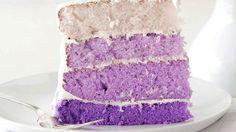 Gorgeously Vegan Purple Taro Cake. theflamingvegan.com