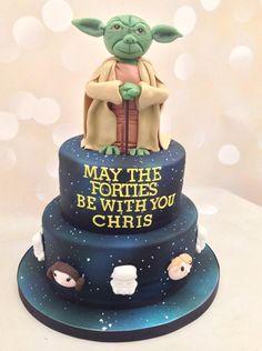 Star Wars 40th Birthday cake