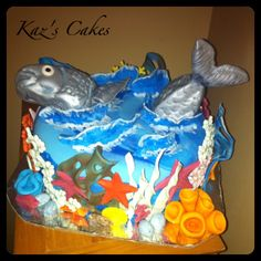 The One That Got Away Fishing Cake