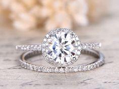 Charles & Colvard Moissanite Ring Moissanite Engagement Ring